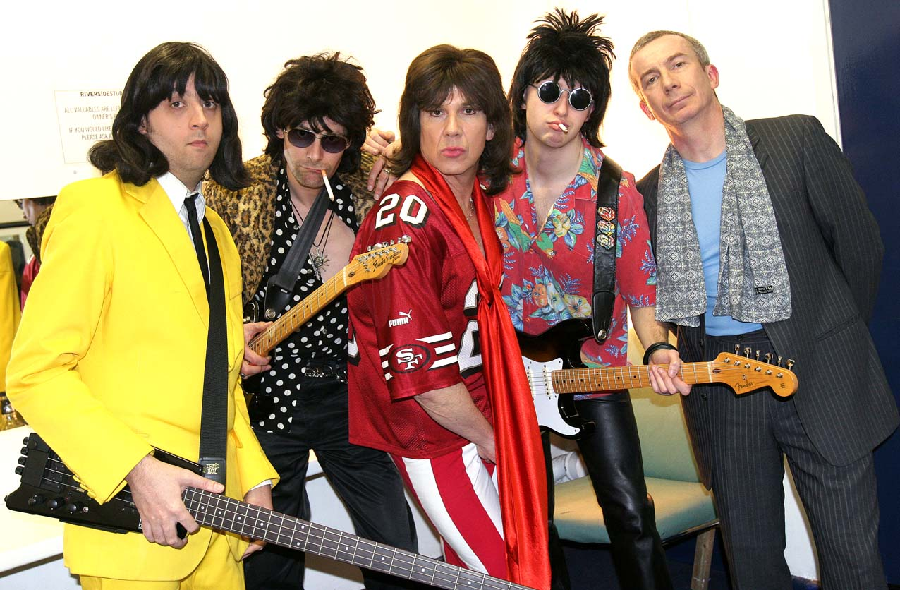 The Counterfeit Stones Backstage