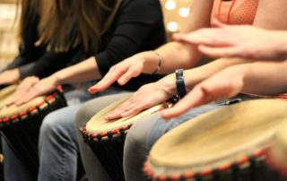 African Drumming Orchestra Team Building Activity